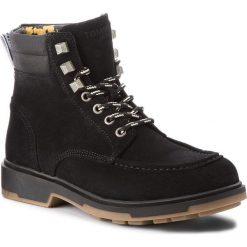 Kozaki TOMMY JEANS - Casual Outdoor Lace EM0EM00171 Black 990. Czarne buty zimowe męskie Tommy Jeans, z jeansu. W wyprzedaży za 479,00 zł.
