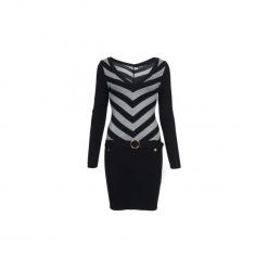 Sukienki krótkie Morgan  RUFFO. Sukienki małe czarne marki Morgan, l, z krótkim rękawem. Za 269,00 zł.
