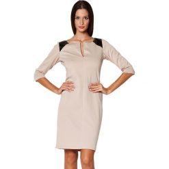 Odzież damska: Sukienka Figl w kolorze beżowym