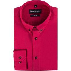 Koszula SIMONE KDAS000255. Czarne koszule męskie na spinki marki TOM TAILOR DENIM, l, z bawełny, button down, z długim rękawem. Za 149,00 zł.
