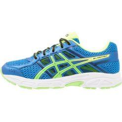 ASICS GELCONTEND Obuwie do biegania treningowe directoire blue/green gecko. Niebieskie buty sportowe chłopięce Asics, z materiału. Za 249,00 zł.