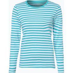 Brookshire - Damska koszulka z długim rękawem, niebieski. Czarne t-shirty damskie marki brookshire, m, w paski, z dżerseju. Za 89,95 zł.