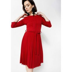 Bordowa Sukienka Sisters Of Mercy. Czerwone sukienki marki other, uniwersalny, midi. Za 89,99 zł.