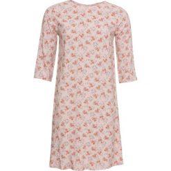 Sukienka z wiskozy bonprix matowy beżowy w kwiaty. Brązowe sukienki balowe bonprix, w kwiaty, z wiskozy. Za 74,99 zł.