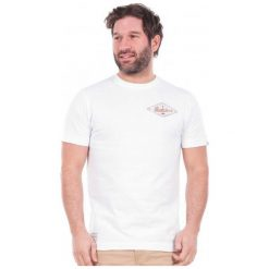 Brakeburn T-Shirt Męski M Biały. Białe t-shirty męskie marki Brakeburn, m. W wyprzedaży za 79,00 zł.