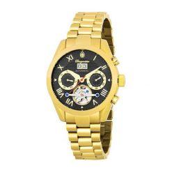 """Zegarki męskie: Zegarek """"Inglewood"""" w kolorze złoto-czarnym"""