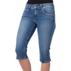 Pepe Jeans Szorty Damskie Saturn Crop 25 Niebieski. Niebieskie szorty jeansowe damskie marki Pepe Jeans. W wyprzedaży za 188,00 zł.