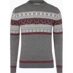 Selected - Sweter męski – Deer, szary. Szare swetry klasyczne męskie Selected, m, z dzianiny. Za 229,95 zł.