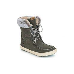 Śniegowce Roxy  RAINIER II. Szare buty zimowe damskie marki Roxy. Za 483,70 zł.