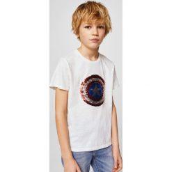 Odzież męska: Mango Kids - T-shirt dziecięcy Marv Capitain America 110-164 cm
