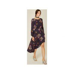 Sukienki asymetryczne: Sukienka Carla granatowy
