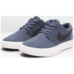 Nike SB SB PORTMORE II Tenisówki i Trampki thunder blue/black/summit white. Niebieskie trampki dziewczęce Nike SB, z materiału. Za 229,00 zł.