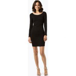 ONLY - Sukienka damska – Onlshine, czarny. Szare sukienki balowe marki ONLY, s, z bawełny, z okrągłym kołnierzem. Za 119,95 zł.