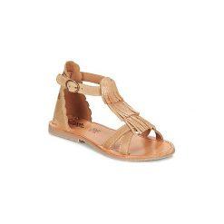 Sandały Dziecko  Citrouille et Compagnie  GAMELA. Brązowe sandały dziewczęce marki Citrouille et Compagnie. Za 179,00 zł.