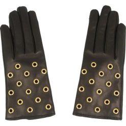 Rękawiczki Damskie COCCINELLE - XY2 Guanti C7 XY2 41 01 01 S Nero/Oro 358. Czarne rękawiczki damskie marki Coccinelle, ze skóry. W wyprzedaży za 429,00 zł.