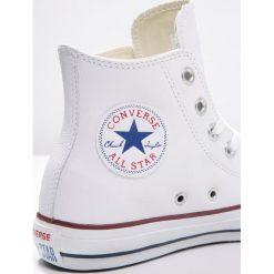 Converse CHUCK TAYLOR ALL STAR Tenisówki i Trampki wysokie white. Białe trampki i tenisówki damskie Converse, z materiału, na sznurówki. Za 349,00 zł.