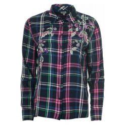Pepe Jeans Koszula Damska Sonia Xl Wielokolorowa. Szare koszule jeansowe damskie marki Pepe Jeans, m, z okrągłym kołnierzem. Za 389,00 zł.