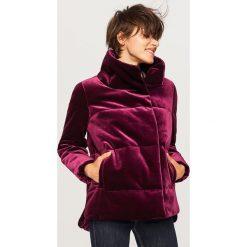 Pikowana kurtka - Fioletowy. Fioletowe kurtki damskie pikowane marki DOMYOS, l, z bawełny. Za 249,99 zł.