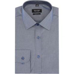 Koszule męskie: koszula bexley 2739 długi rękaw slim fit niebieski
