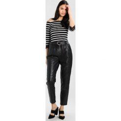 Bluzki, topy, tuniki: mint&berry 3/4 CARMEN TOP Bluzka z długim rękawem black