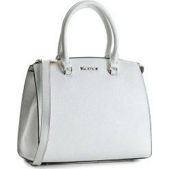 Torebka KAZAR - Melody 29487-01-29 Kremowy. Białe torebki klasyczne damskie Kazar, w paski, z materiału, zdobione. W wyprzedaży za 469,00 zł.