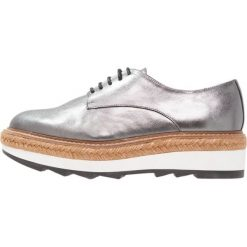 Tomsy damskie: Whistles REX LACE UP  Espadryle pewter