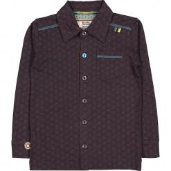"""Koszula """"Feeling Free"""" w kolorze fioletowo-antracytowym. Szare koszule chłopięce marki 4FunkyFlavours Kids, z klasycznym kołnierzykiem. W wyprzedaży za 102,95 zł."""