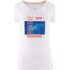 Outhorn Koszulka damska HOL18-TSD619 biała r. XS. Białe bluzki damskie Outhorn, xs. Za 24,99 zł.