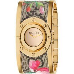 ZEGAREK GUCCI TWIRL YA112443. Żółte zegarki damskie marki GUCCI, ze stali. Za 4690,00 zł.