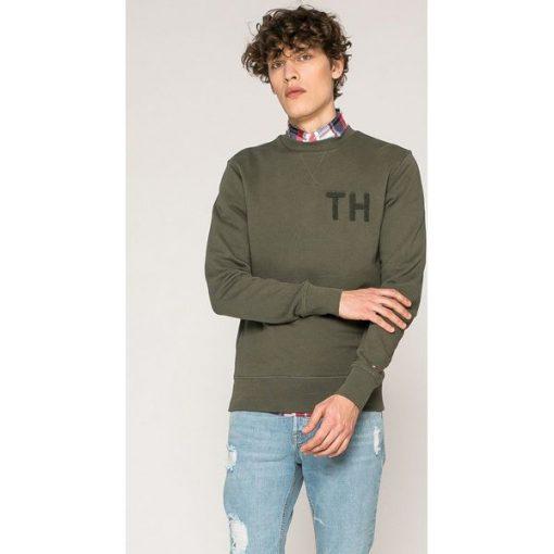 164ac5489fd5a Tommy Hilfiger - Bluza - Szare bluzy męskie TOMMY HILFIGER