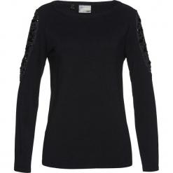 Sweter bonprix czarny. Czarne swetry klasyczne damskie bonprix. Za 129,99 zł.
