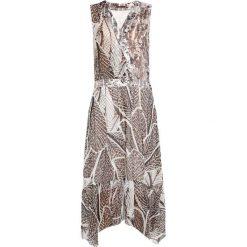 Długie sukienki: Sisley Długa sukienka beige