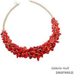Naszyjniki damskie: Czerwony sznur korali – naszyjnik