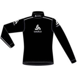 Odlo Koszulka tech. Shirt turtle neck l/s LOGO LINE - 190761 - 190761S. Czarne topy sportowe damskie Odlo, l. Za 199,95 zł.