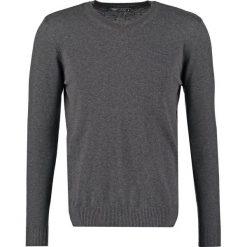 Swetry klasyczne męskie: Teddy Smith PULSER Sweter anthracite