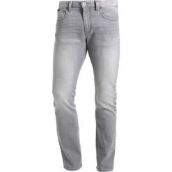 Armani Exchange Jeansy Slim Fit grey denim. Czarne jeansy męskie marki Armani Exchange, l, z materiału, z kapturem. Za 569,00 zł.