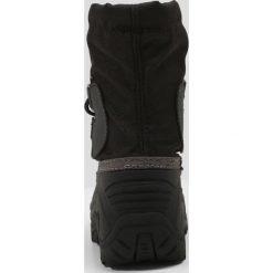 Kamik SOUTHPOLE4 Śniegowce black. Czarne buty zimowe damskie marki Kamik, z materiału. W wyprzedaży za 201,75 zł.