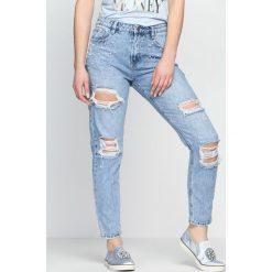 Niebieskie Jeansy Out Of This World. Czarne jeansy damskie z dziurami marki Born2be, l. Za 54,99 zł.