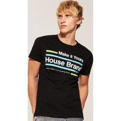 T-shirt Czarny. Czarne t-shirty męskie marki House, l. Za 29,99 zł.