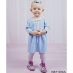 Sukienki niemowlęce: Sukienka Baby Collar Baby Blue