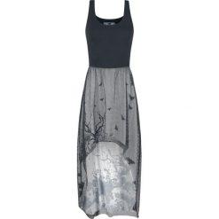 Black Premium by EMP To Make A Long Story Short Sukienka szary/czarny. Sukienki małe czarne marki Black Premium by EMP, xl, z poliesteru. Za 164,90 zł.