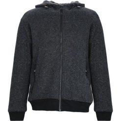 Czarna Bluza Extrovert. Czarne bluzy męskie rozpinane marki Born2be, l, z aplikacjami, z dresówki. Za 89,99 zł.