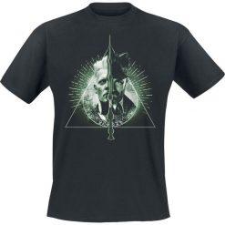 Fantastic Beasts Grindelwalds Verbrechen - Heiligtümer des Todes T-Shirt czarny. Czarne t-shirty męskie z nadrukiem Fantastic Beasts, l, z okrągłym kołnierzem. Za 74,90 zł.