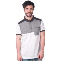 Brave Soul Koszulka Polo Dorne S Biały. Białe koszulki polo marki Brave Soul, m. W wyprzedaży za 38,00 zł.