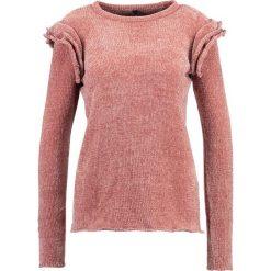 Swetry klasyczne damskie: YAS YASCHERRY FLOUNCE Sweter rose dawn