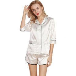 Piżamy damskie: 2-częściowa piżama w kolorze białym