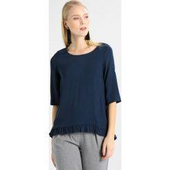 Bluzki asymetryczne: And Less MYRTLE BLOUSE Bluzka mood indigo