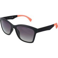 """Okulary przeciwsłoneczne damskie: Okulary przeciwsłoneczne """"GU7434"""" w kolorze czarno-pomarańczowym"""