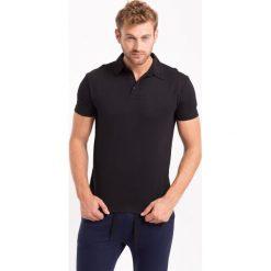Koszulka polo męska TSM050Z - czarny - 4F. Czarne koszulki polo 4f, na jesień, m, z bawełny. Za 59,99 zł.