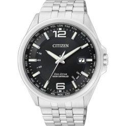 ZEGAREK CITIZEN Radio Controlled CB0010-88E. Czarne zegarki męskie CITIZEN, ze stali. Za 1625,00 zł.
